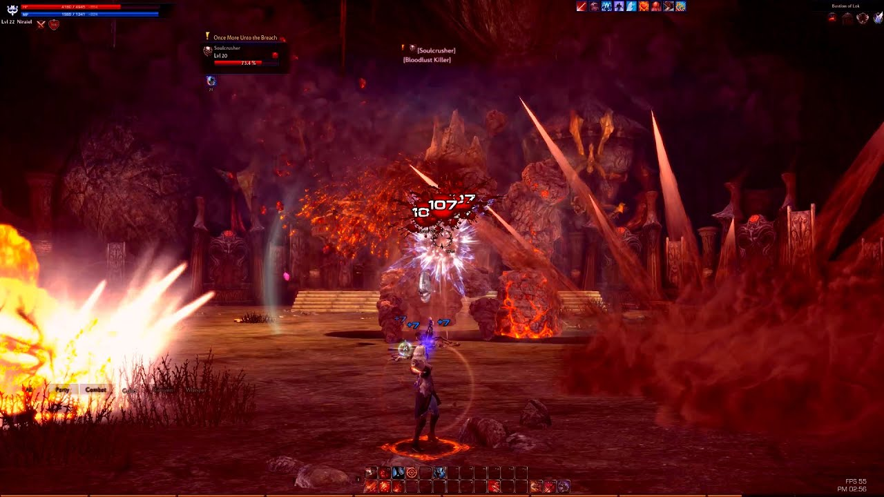how to get to bastion of lok in tera