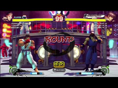 Ryu(obiwan kenopif) VS Guy(Nox2)