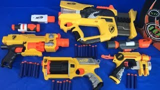 Nerf Blasters Toy Blasters for Kids Box of Toy Weapons N Strike