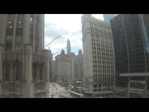 Timelapse of Michigan Avenue from Tribune Tower