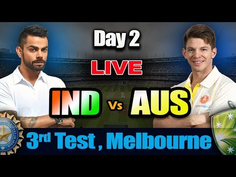 LIVE: IND vs AUS 3rd Test | Day 2 | Live Scores And Commentary | 1st session day 2