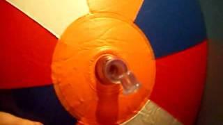 Deflating Jumbo Beachball