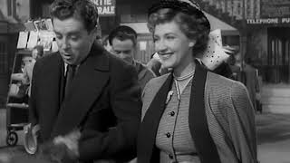 1948 British Espionage Film... Drama on a Train