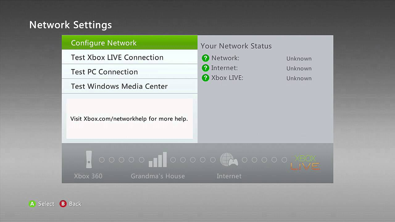 On xbox 360 console cannot connect to the internet fix youtube