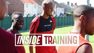 Inside Training: Energy-sapping bleep tests | Keita, Fabinho & Milner