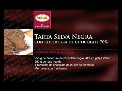 Receta Tarta Selva Negra con Cobertura Negra 70%