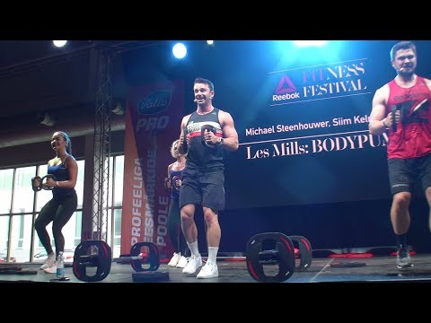 LesMills BodyPump 103 (Shoulders+Lunges) | Reebok Fitness Festival 2017