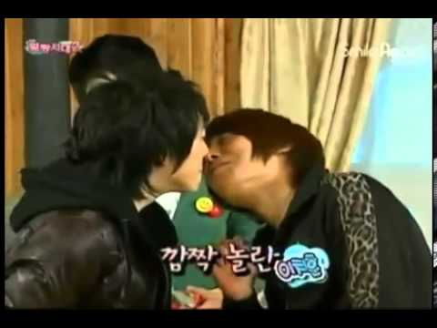 Korean boys and kissing games  part1
