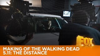 The Making Of The Walking Dead 5.11: The Distance