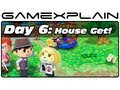 Animal Crossing: New Leaf - Day 6: House Get! (3DS Video Preview)