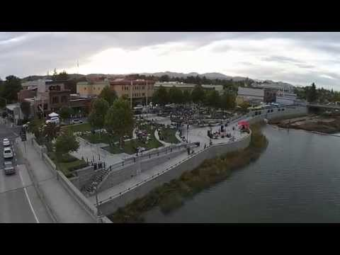 Napa City Nights - Rob Sherman - Aerial Music Video