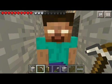I FOUND HEROBRINE! HEROBRINE KILLED ME! Minecraft PE Herobrine Sighting! Mcpe Herobrine Proof 1.2.6