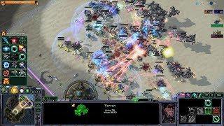 Starcraft 2 - Arcade - Direct Strike - 3vs3 - Terran - #75 - Surprise