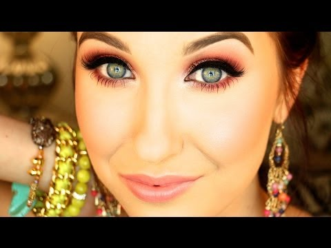 Rose Sparkle ♡ Spring 2014 Makeup Tutorial