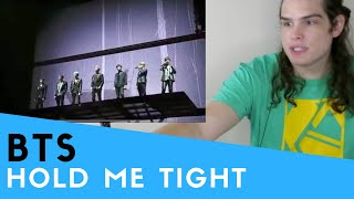 Voice Teacher Reacts to BTS ' Hold me tight ' Live