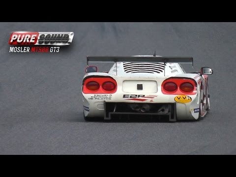 Mosler MT900 - GT Super Car Sound 2015 - Mosler GT3