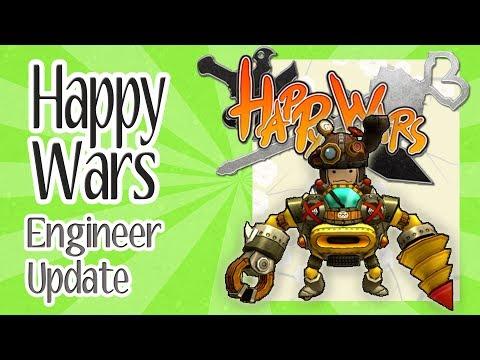 Happy Wars Engineer Class Skills and Update Freebies | Japanese Gaming News