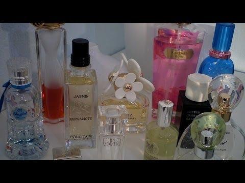 Η συλλογή των αρωμάτων μου!!My perfume collection!! funtabulousTk!