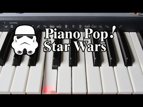 Star Wars Theme Song Piano Lesson - Easy Piano Tutorial