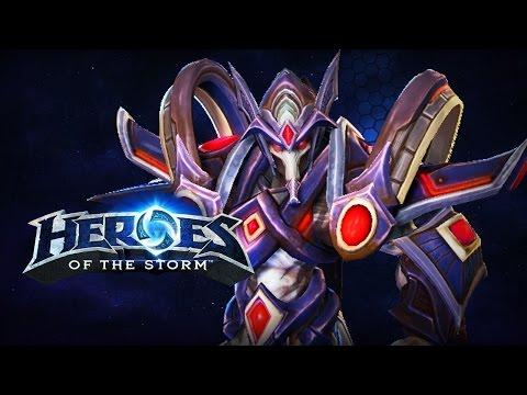 ♥ Heroes of the Storm (Gameplay) - Tassadar, Fun Racecar Build (HoTs Quick Match)