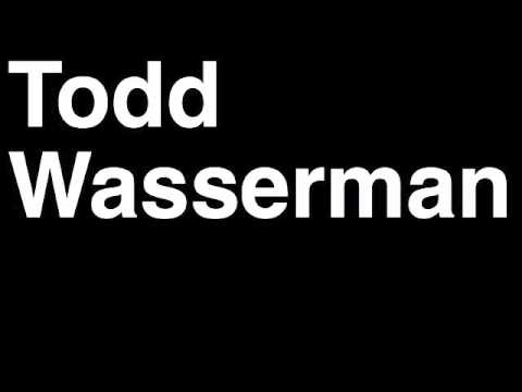 How to Pronounce Todd Wasserman Mashable Online News Website