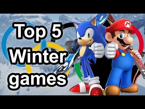 Top 5 - Sochi Winter Olympics sports games