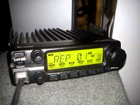 Repeater test with Ic-2200H