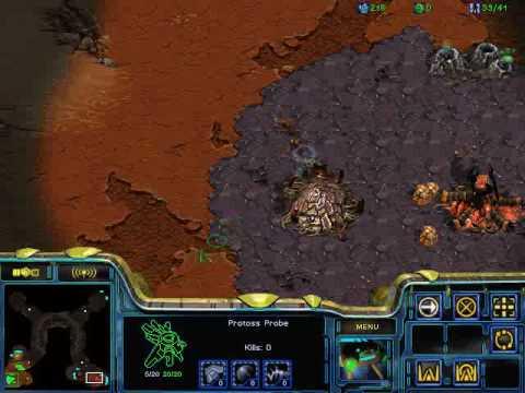 Starcraft protoss vs zerg pro rus part1 Мастер-класс ЛКИ