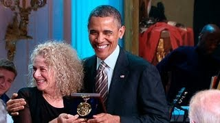 President Obama Honors Carole King  5/23/13
