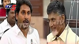 Chandrababu Naidu Laughs Over YS Jagan Speech In AP Assembly Sessions | TV5 News