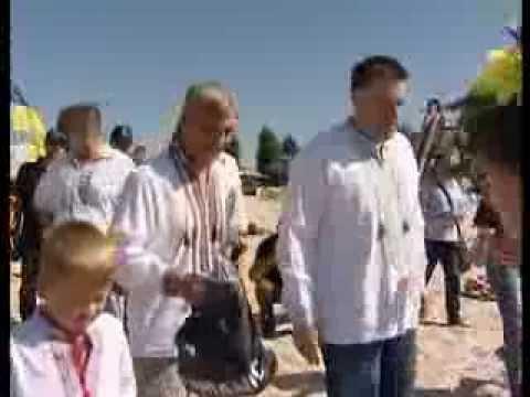 """У День Незалежности лідери """"Свободи"""" здійснили традиційний заплив через Дніпро"""