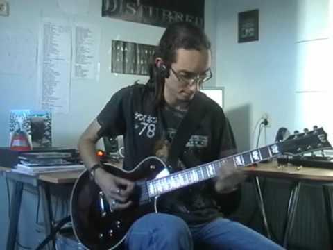 Metallica - Invisible Kid cover (Jeroen Petri)
