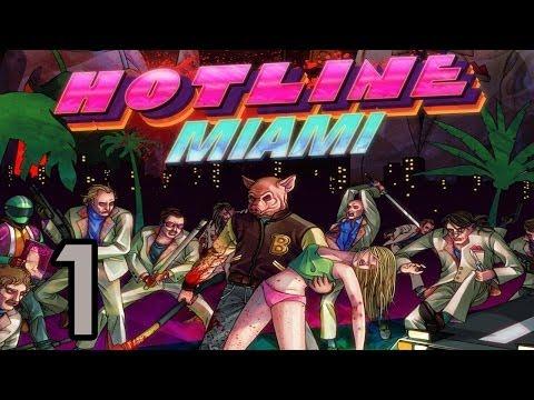 Juguemos Hotline Miami - Parte 1 - Mecánicas y primeras masacres