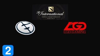 Highlights Evil Geniuses vs LGD-GAMING Game 2- The International 2015
