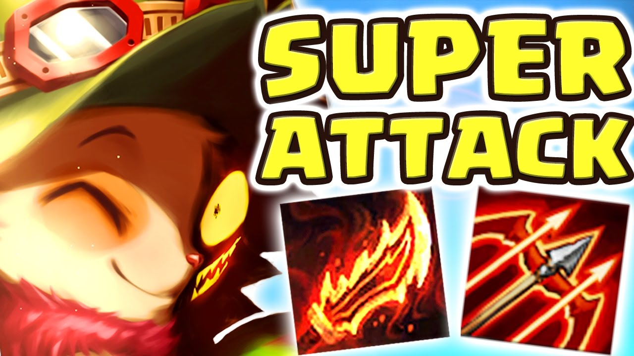 NEVER DISRESPECT SUPER TEEMO!! MAX ATTACK SPEED | THAT CANNOT BE UNSEEN!! TEEMO JUNGLE - Nightblue3
