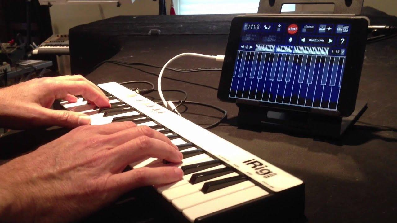 Jordan Rudess plays iRig KEYS -The universal portable ...