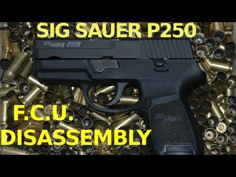 Sig Sauer P250 FCU Disassembly