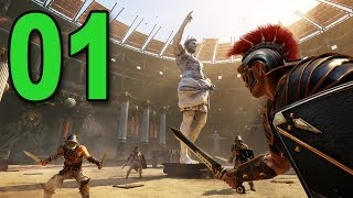 Ryse: Son of Rome - Part 1 - Gladiator (Let's Play / Walkthrough / Playthrough)