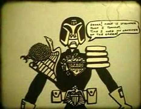 Judge Dredd Animation