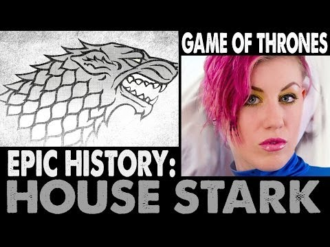 Epic History: House Stark . Game Of Thrones (2014 Updated Version) video
