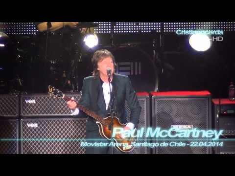 Paul McCartney - All my Loving ( Movistar Arena, Santiago de Chile - 22.04.2014 )