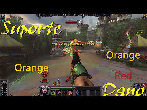 SMITE - Ep. 09 - Personagens iniciais (Parte 6/7) - Guan Yu,   Saint of War
