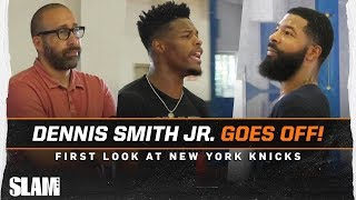 Dennis Smith Jr. goes OFF at Remy Runs! 😈 First Look at New York Knicks
