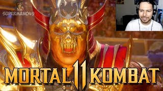 """Shao Kahn Vs Kotal Kahn!! - Mortal Kombat 11: Story Mode """"Kotal Kahn"""" (Chapter 2)"""