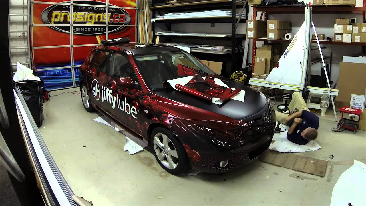 Mazda 3 Hatchback Full 3M Wrap by Prosigns.ca - YouTube