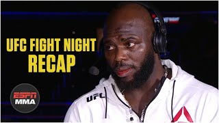 Jairzinho Rozenstriuk on Overeem KO, wanting Ngannou next | UFC Fight Night Post Show | ESPN MMA