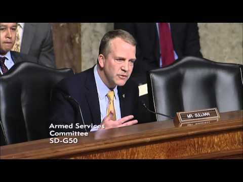 Sen. Dan Sullivan (R-AK) at a Senate Armed Services Committee Hearing - February 2, 2016