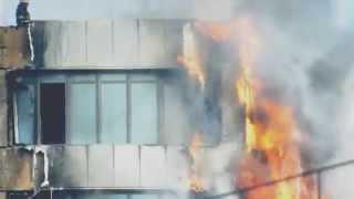 Одесса  пожар. Fire in Odessa