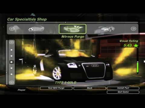 Need for Speed Underground 2 - Audi TT Tuning and Race Music Videos