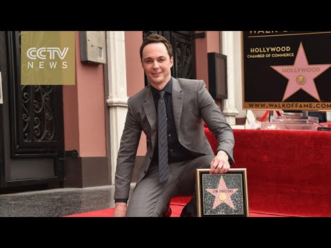 Sheldon joins the Hollywood Walk of Fame
